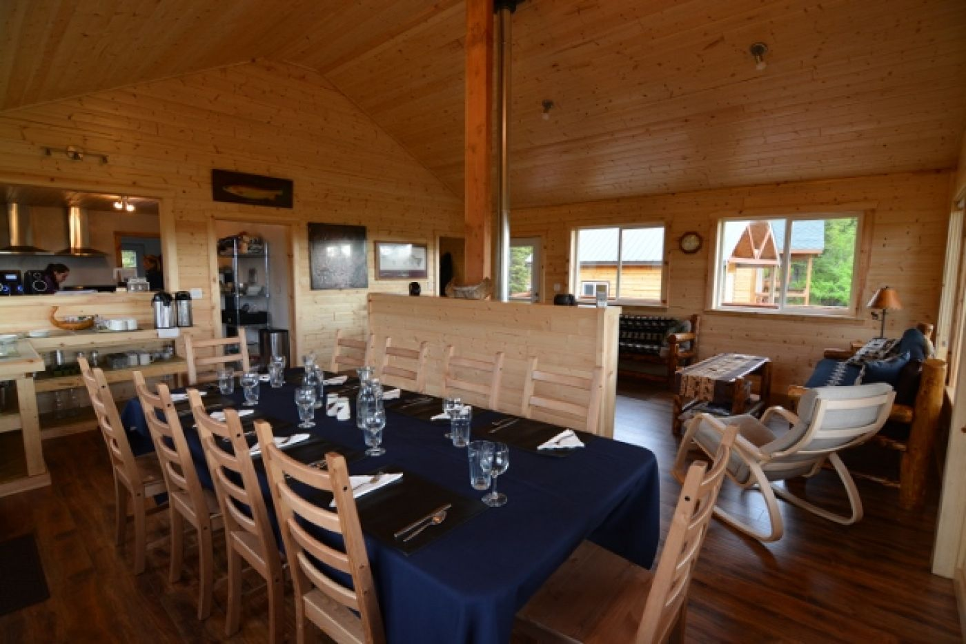 A Luxury Alaska Fishing Lodge The Copper River Lodge