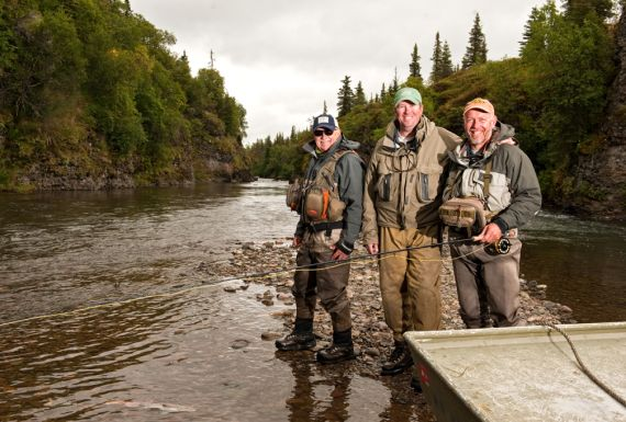 alaska trout fishing guides
